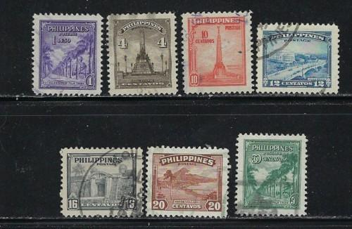Philippines 504-10 Used 1947 Issues