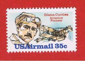 #C100  MNH OG   Curtiss  Free S/H