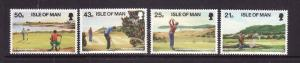 Isle of Man-Sc#752-5-unused NH set-Sports-Ryder Cup-Golf Courses-1997-