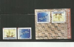 CROATIA 2006 SCOTT 5291-2 AND 592A MNH SCV $67