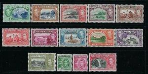 TRINIDAD & TOBAGO- SCOTT #50-61 1938-41 GEORGE VI PICTORIALS-  MINT NEVER HINGED