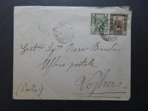 Libya SC# 39a & 54a On Cover / Perf 11 - Z10318