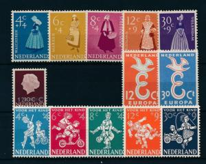 Netherlands Niederlande Pays Bas 1958 Year Set Annee Complete MNH