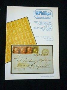 PHILLIPS AUCTION CATALOGUE 1994 SICILY 'ALPHONSE' COLLECTION
