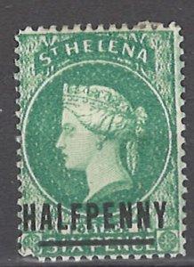 COLLECTION LOT # 3038 SAINT HELENA #33 MH 1884 CV=$12