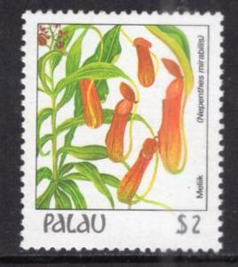 Palau 140 Flower MNH VF
