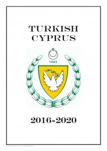 Turkish Cyprus  2016-2020 PDF(DIGITAL) STAMP ALBUM PAGES