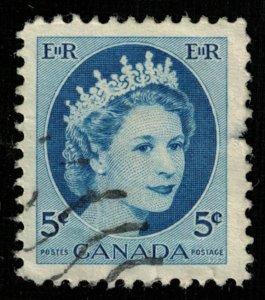 Canada, Queen Elizabeth II, 5 cents (T-5775)