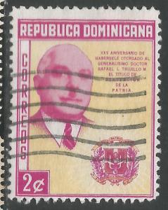 DOMINICAN REPUBLIC 497 VFU Z865-2