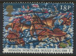 Great Britain SG 1404  Used   - Spanish Armada