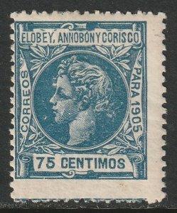 Elobey Annobon & Corisco Sc 28 MH