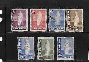 ICELAND, 203-208A, USED, GEYSER