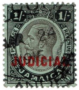 (I.B) Jamaica Revenue : Judicial 1/- (1913)