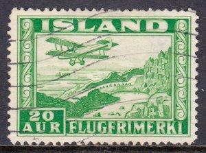 Iceland - Scott #C16a - P14 - Used - SCV $22.50