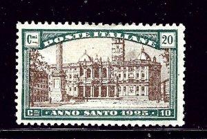Italy B20 MHH 1924 issue