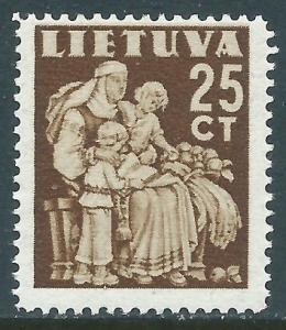 Lithuania, Sc #320, 25c MH