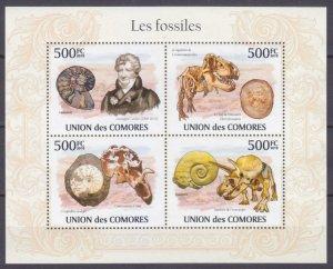 2009 Comoro Islands 2642-2645KL Dinosaurs 9,00 €