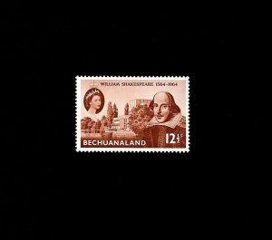BECHUANALAND - 1964 - QE II - SHAKESPEARE ISSUE - MINT - MNH SINGLE!