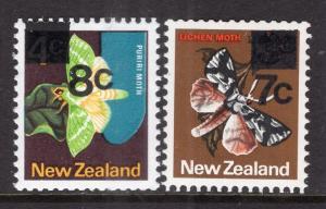 New Zealand 630-631 Butterflies MNH VF