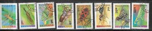 Bulgaria #3710-3717   Insects  (CTO) set complete  CV$18.55