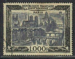 $France Sc#C27 Used, VF, Cv. $24