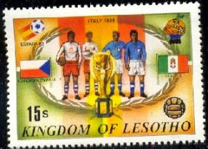 1938 World Cup Soccer Championships, Lesotho SC#363c MNH