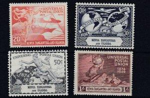 KUT  1949  UPU SET OF 4  MH