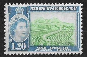 Montserrat # 140 QE II Definitive  $1.20  (1)  Mint NH