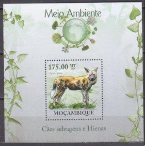 2010 Mozambique 3635/B305 Hyena 10,00 €