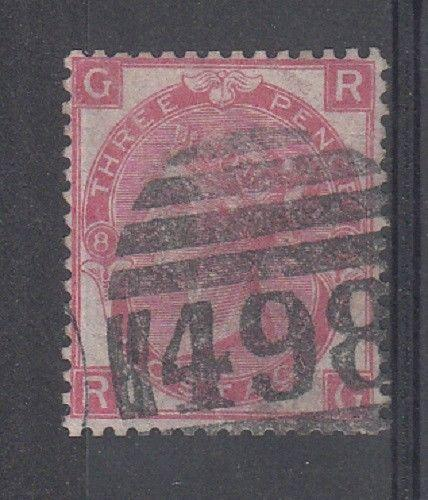 Great Britain Scott 49 (plate 8) - Catalog Value $60.00