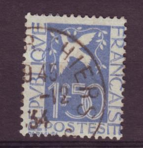J12333 JLstamps 1934 france used #294 bird dove