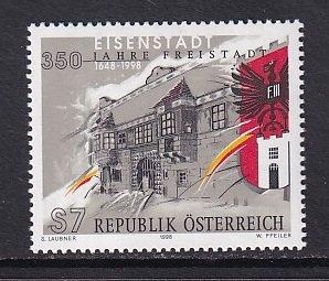 Austria   #1772  MNH   1998  Eisenstadt