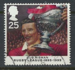 Great Britain SG 1892  Used  - Rugby League