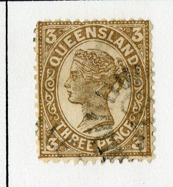QUEENSLAND 117 USED SCV $3.25 BIN $1.50 ROYALTY