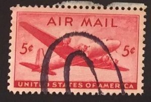 US #C32 Used VF - Airmail