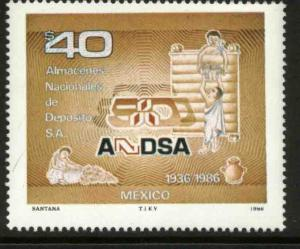 MEXICO 1455, National Warehouse System, 50th Anniversary MNH