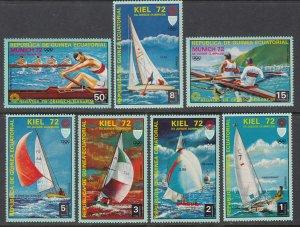 Equatorial Guinea 72104-72110 Summer Olympics MNH VF