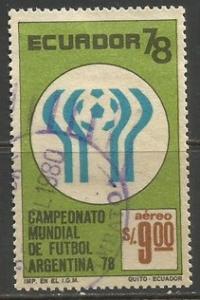 ECUADOR C629 VFU  Z1807-2