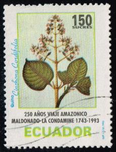 Ecuador #1320 Cinchona Tree Blossom; Used (0.25)