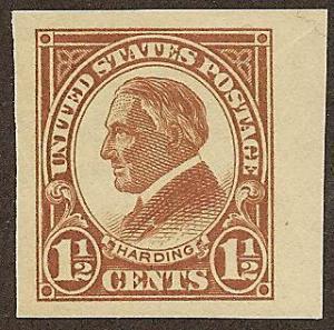 576 MNH,  1 1/2c. Harding, Jumbo, scv: $2.70