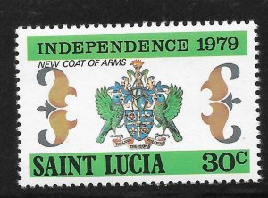 St Lucia Mint Never Hinged [4175]