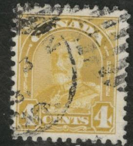 CANADA Scott 166 used 1930 KGV stamp CV$7.50