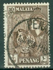Malaya - Penang - Scott 50