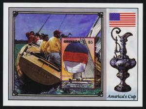 Grenada 1495 MNH Sailing Yachts, America's Cup