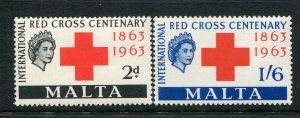 Malta #292-3 Mint
