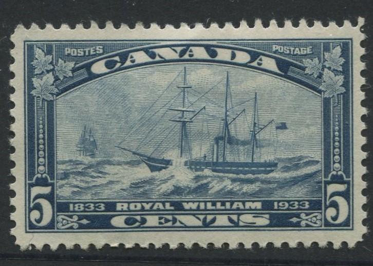 Canada -Scott 204 - Pictorial Definitive -1933 - MH - Single 5c Stamp
