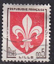 France 938 Arms of Lille 1960