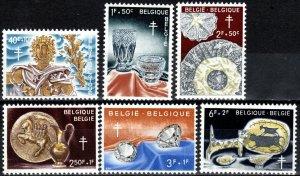 Belgium #B678-83  MNH  CV $14.00 (X6986)