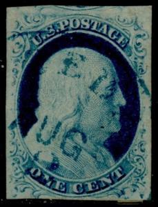 #9 XF USED POS.64R WITH BLUE CANCEL BQ7098