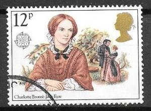 Great Britain 1980 Charlotte Bronte, 12p, used, Scott #915